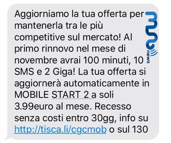 Tiscali Mobile Mobile Start