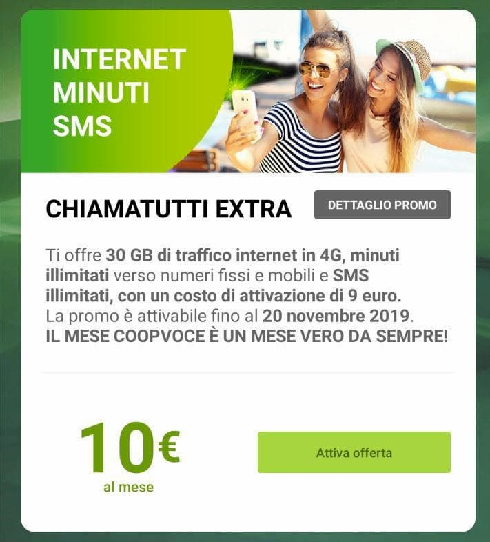 ChiamaTutti EXTRA già clienti