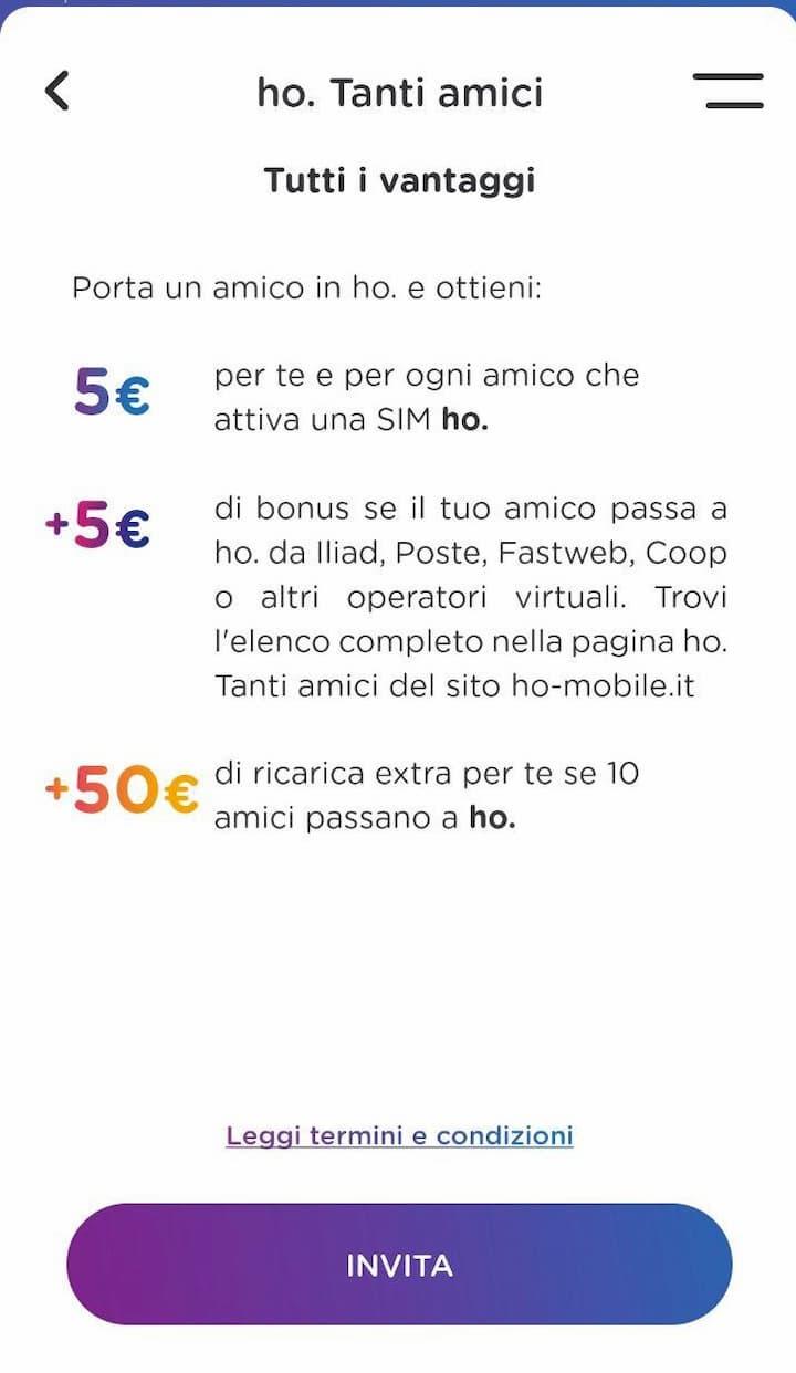 Con L Iniziativa Ho Tanti Amici 5 Euro Per Ogni Amico Che Passa A Ho