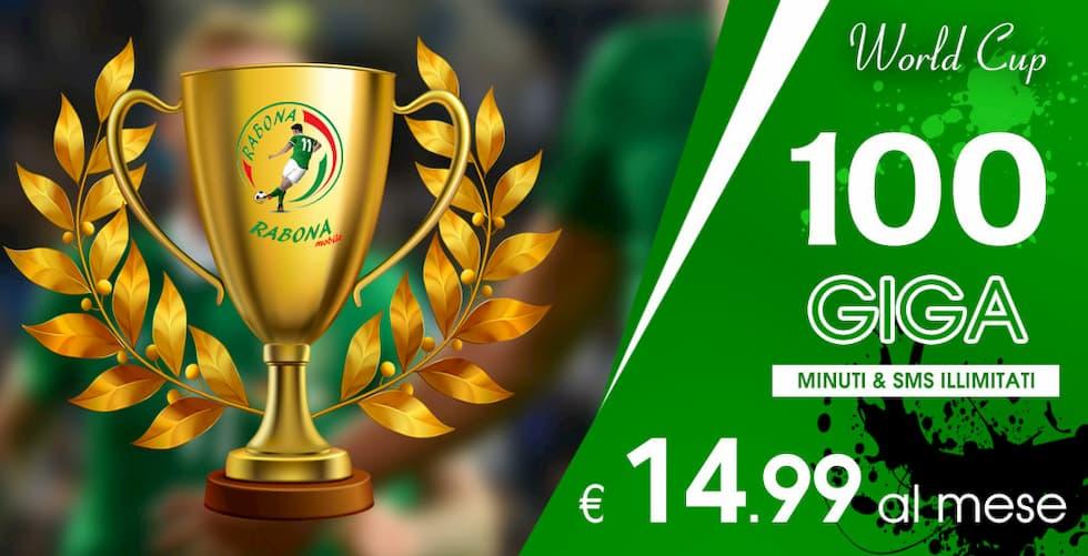 World Cup Rabona 100 Giga