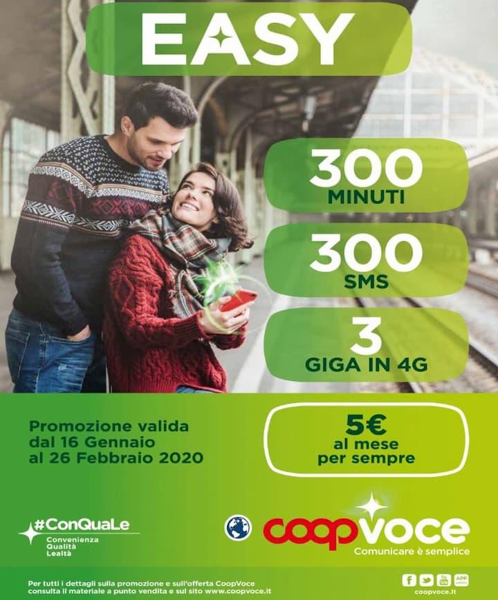 Volantino CoopVoce EASY