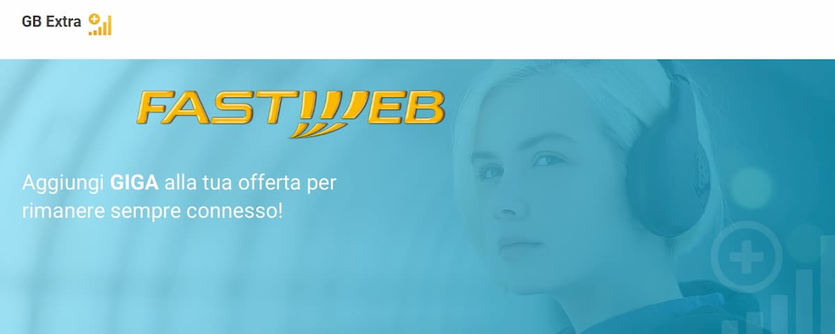 Giga Extra Fastweb Mobile