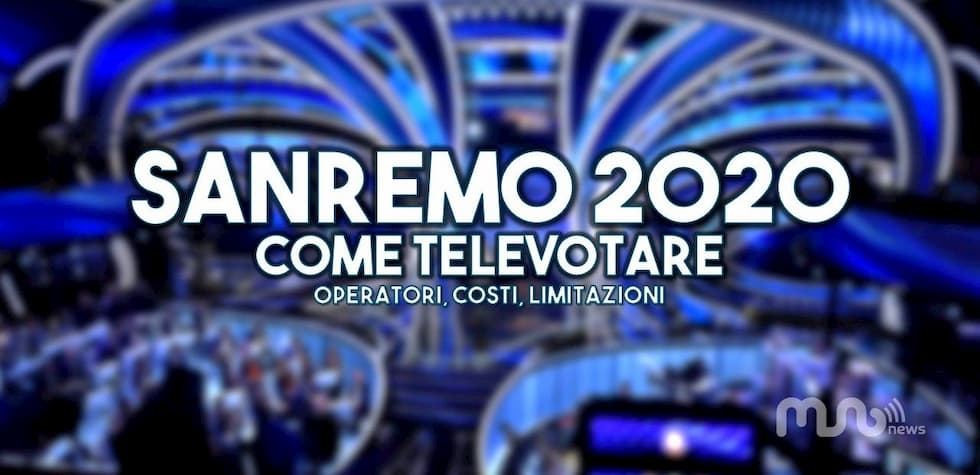 Televoto Sanremo 2020 MVNO