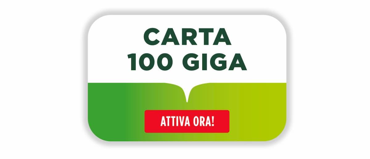 Carta 100 Giga CoopVoce