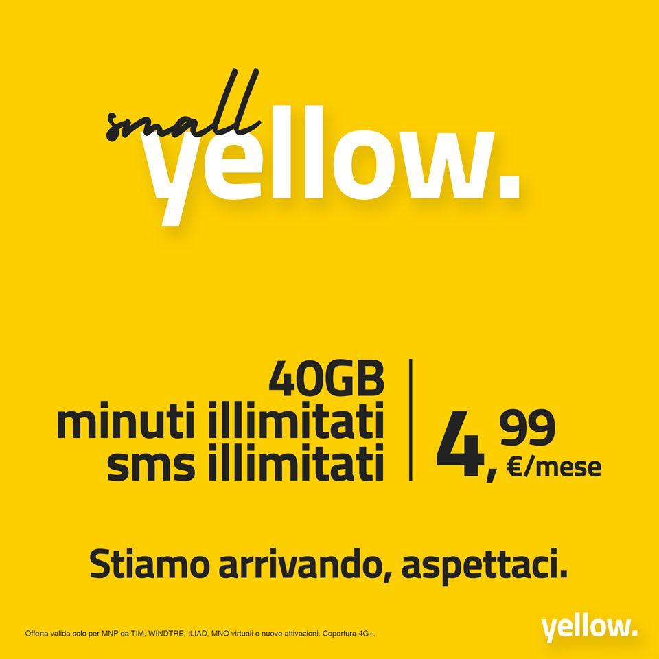 Tariffa Yellow. 4,99