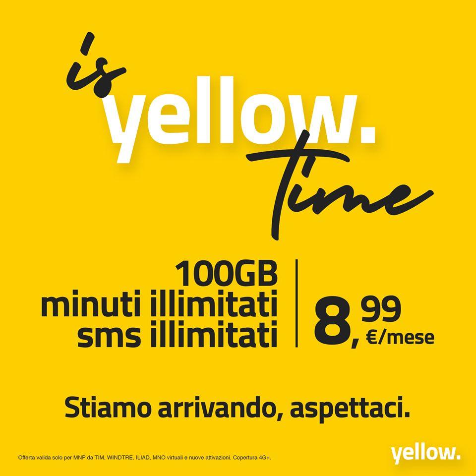 Tariffa Yellow. 8,99