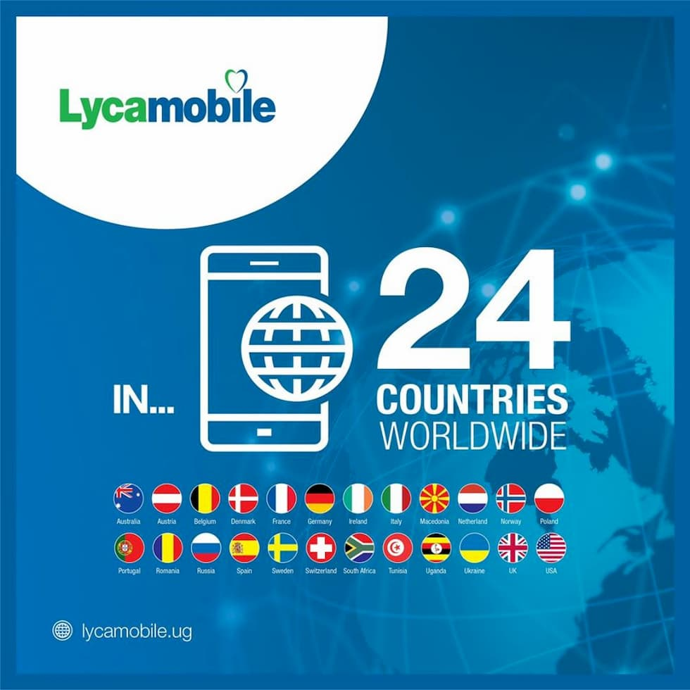 Lycamobile in 24 paesi