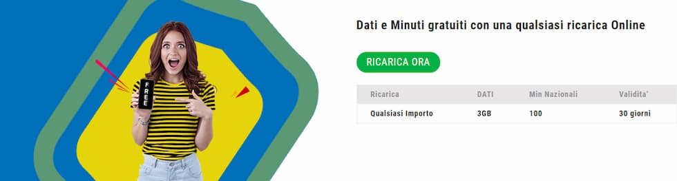Promo ricarica online Lycamobile