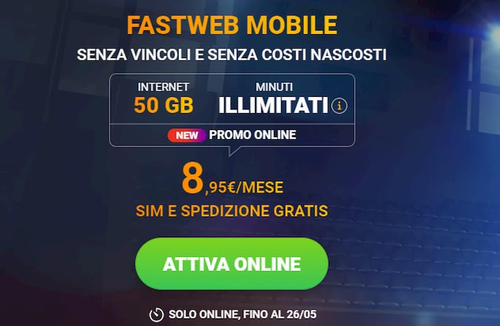 Fastweb Mobile offerta New