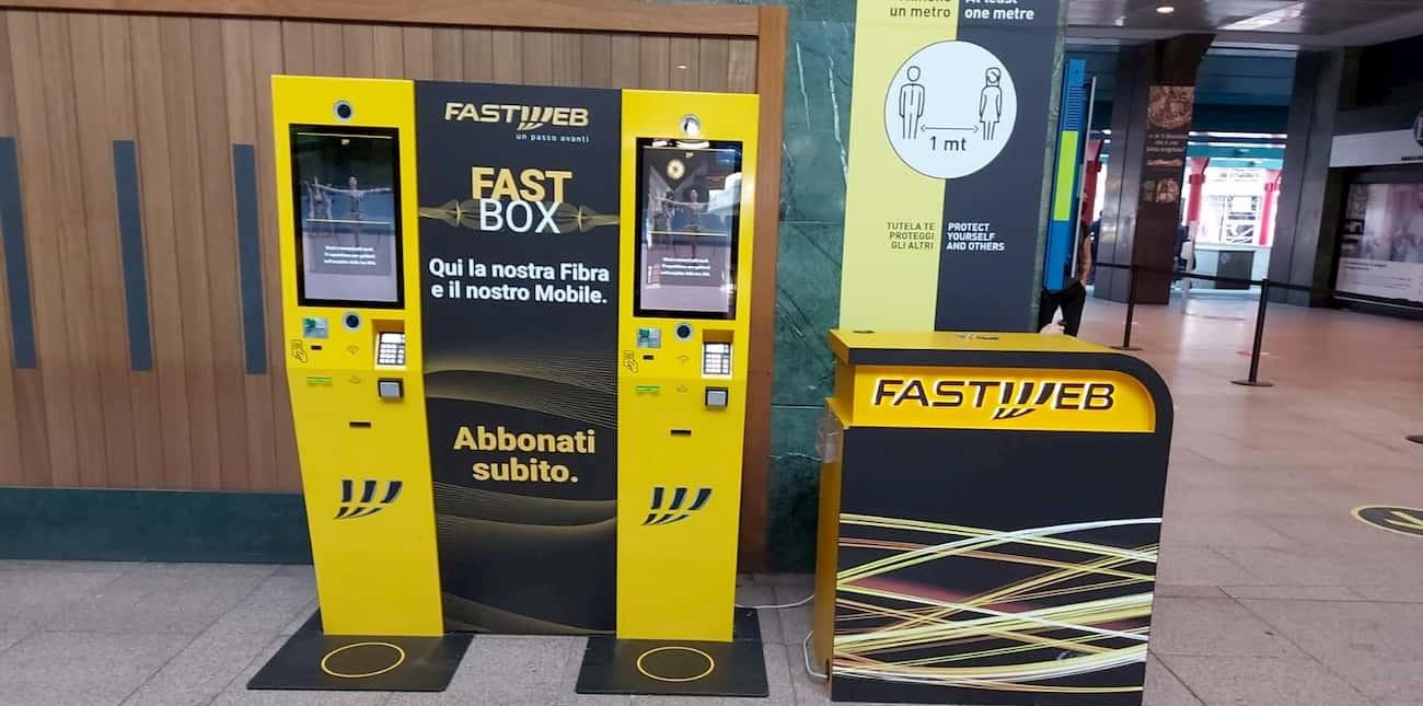 FastBox Fastweb Milano Cadorna