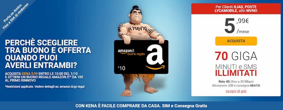 Promo Kena 5,99 Amazon