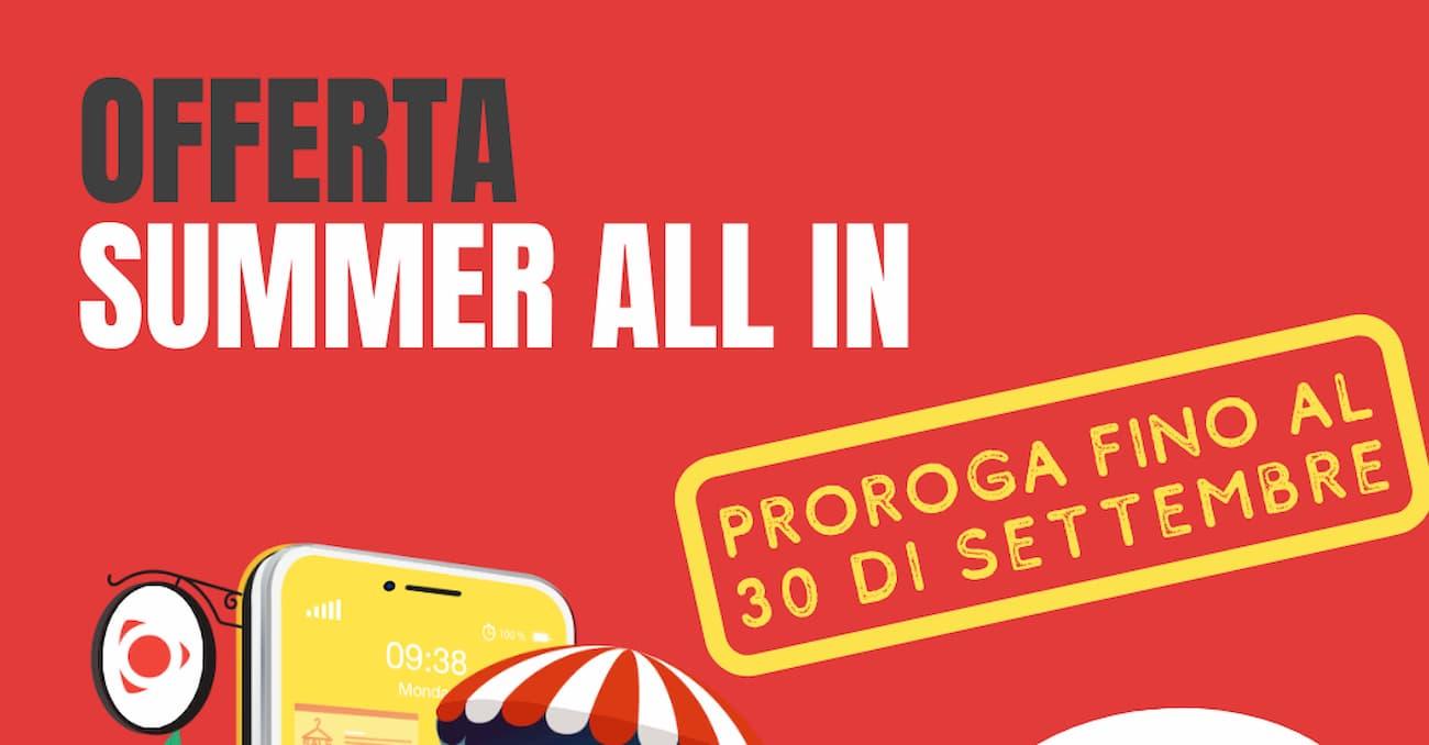 Proroga Summer All In settembre 2020