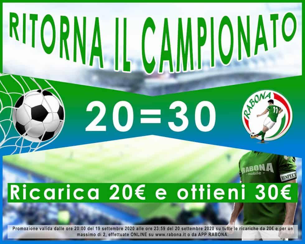 Ricarica Rabona Campionato Serie A