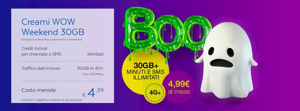Creami WOW Weekend 30GB Halloween 2020
