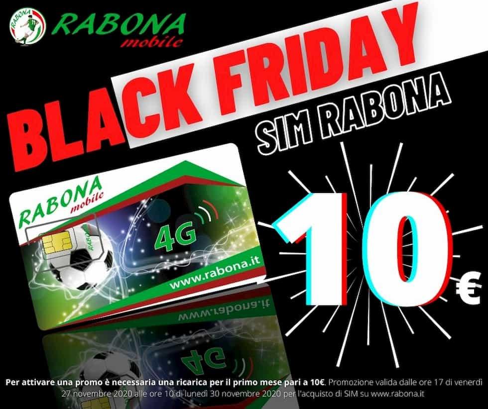 SIM Rabona a 10 euro