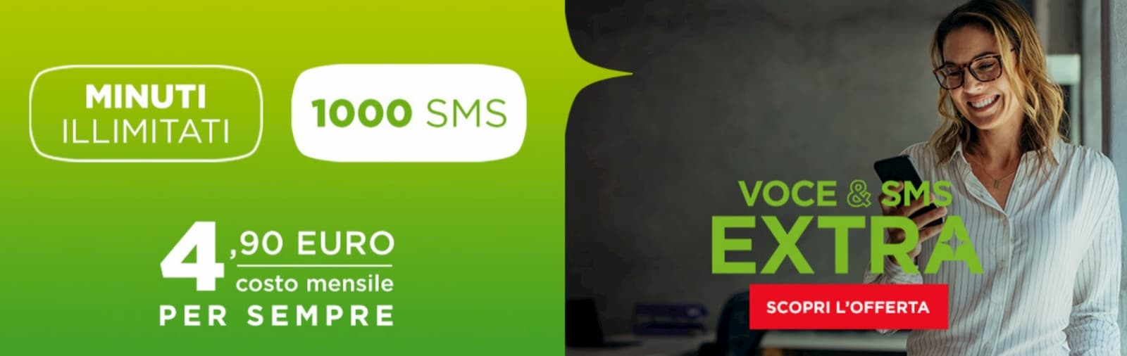CoopVoce Voce & SMS EXTRA