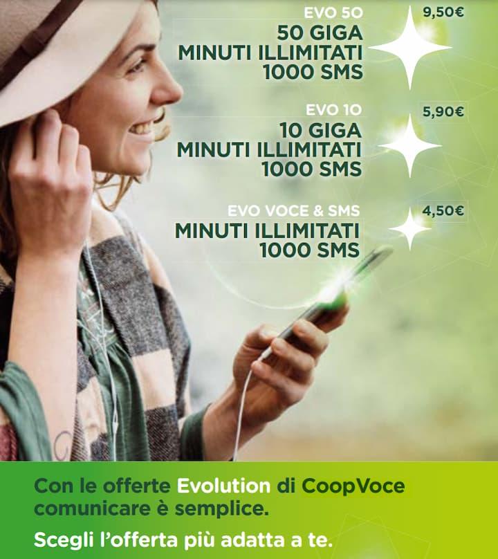 Nuove offerte Evolution CoopVoce