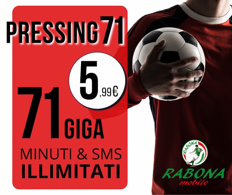 Rabona Pressing 71