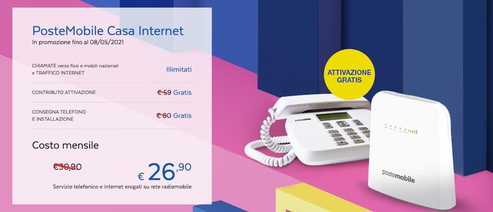 Poste Mobile Casa Internet