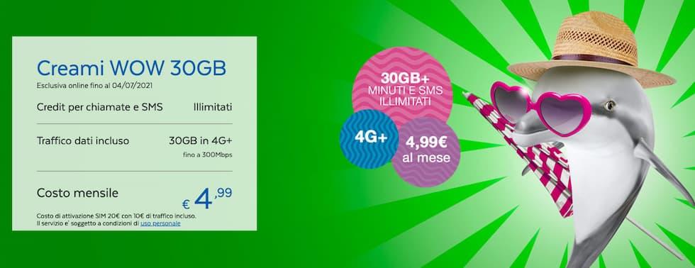 Creami WOW 30GB