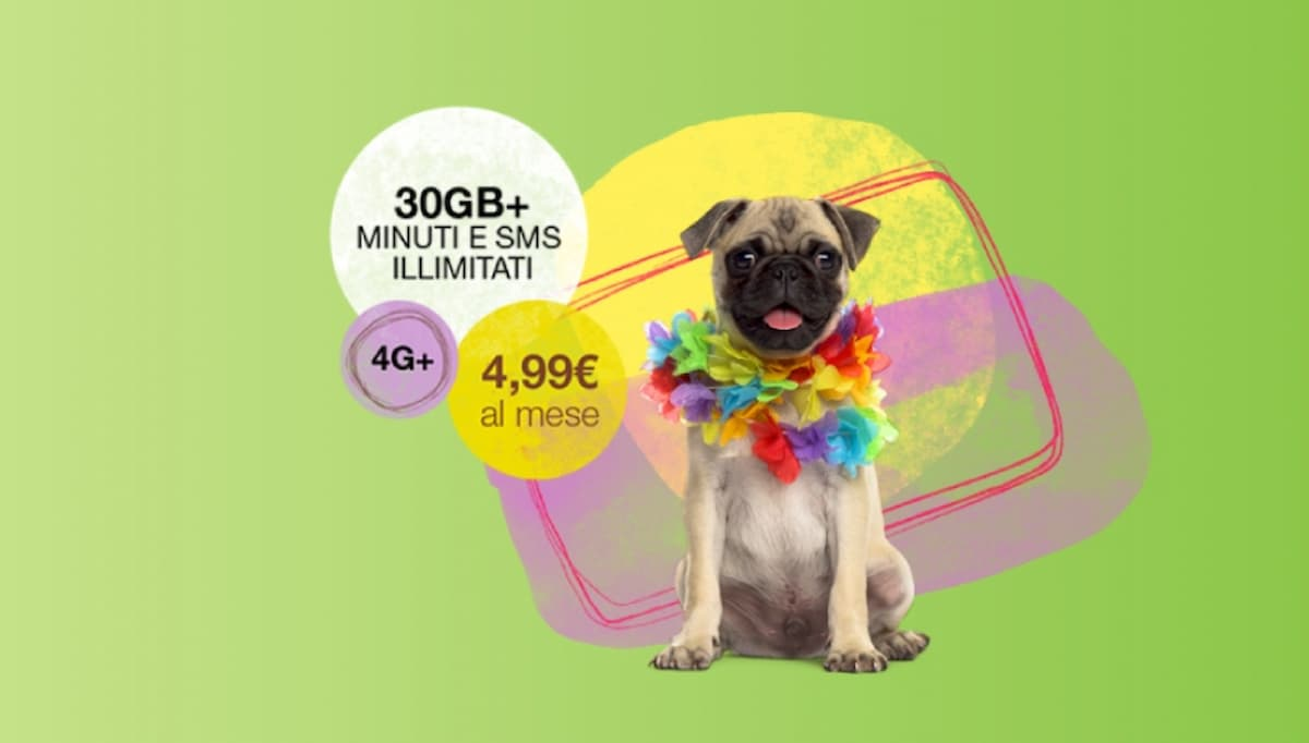 PosteMobile Creami WOW 30 GB